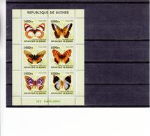 Republique De Guinee - Papillons