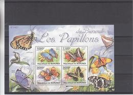 Republique Du Burundi - Papillons