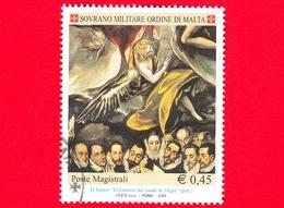 SMOM - Sovrano Militare Ordine Di Malta - Usato - 2005 - 'El Entierro Del Conde De Orgaz' Di El Greco - Particolare Dell - Malte (Ordre De)