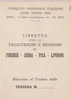 Firenze, Siena, Pisa, Livorno, 1950. - Vieux Papiers