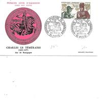 FRANCE FDC N°1616 CHARLES LE TEMERAIRE - FDC