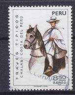 Peru 1974 Mi. 980    8.50 S Reitertracht Bekannt Als 'Chalán' Horse Pferd Cheval - Peru
