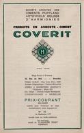 HARMIGNIES Ciments Portland Catalogue En 1937 - Publicités