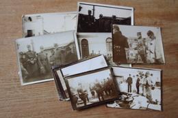 Intéressant Ensemble De Photographies Militaires Dans L'Oise Vers 1900 1910 - Fotos