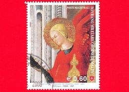 SMOM - Ordine Di Malta - Usato - 2007 - Madonna, Bambino E Santi Di Neri Di Bicci - Angeli Alla Destra Del Trono - 0.60 - Malte (Ordre De)