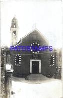117884 ITALY RECCO GENOVA VIEW CHURCH CIRCULATED TO URUGUAY POSTAL POSTCARD - Unclassified