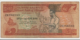 ETHIOPIA P. 31b 5 B 1976 G - Ethiopië