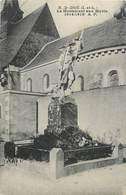 CPA 37 Indre Et Loire Notre Dame D'Oe (DOE) Le Monument Aux Morts Non Voyagée - Autres Communes