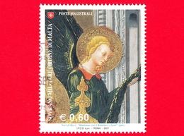 SMOM - Ordine Di Malta - Usato - 2007 - Madonna, Bambino E Santi Di Neri Di Bicci - Angeli Alla Sinistra Del Trono - 0.6 - Sovrano Militare Ordine Di Malta