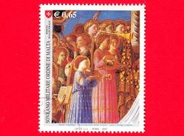 SMOM - Ordine Di Malta - Usato - 2007 - Maestri Della Pittura - Incoronazione Della Vergine Del B. Angelico - Angeli All - Sovrano Militare Ordine Di Malta