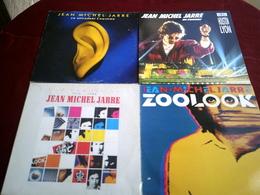 JEAN MICHEL JARRE  °  COLLECTION DE 10 / 33 TOURS DIFFERENTS - Colecciones Completas