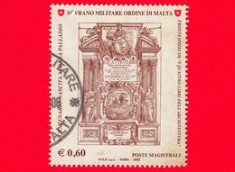 SMOM - Ordine Di Malta - Usato - 2008 - 5º Centenario Della Nascita Di Andrea Palladio - Frontespizio  - 0.60 - Sovrano Militare Ordine Di Malta