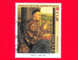 SMOM - Ordine Di Malta - Usato - 2008 - Maestri Della Pittura - Cancelliere Rolinm Di Jan Van Eyck - 1.40 - Sovrano Militare Ordine Di Malta