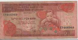 ETHIOPIA P. 32b 10 B 1976 G - Etiopía