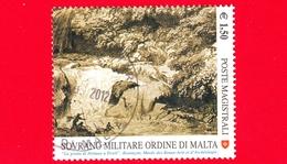 SMOM - Ordine Di Malta - Usato - 2010 - Il Disegno Nell'arte - La Grotta Di Nettuno A Tivoli, Opera Di J.H. Fragonard - - Sovrano Militare Ordine Di Malta