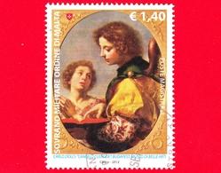 SMOM - Ordine Di Malta - Usato - 2012 - L'angelo Custode, Opera Di Carlo Dolci - Budapest - 1.40 - Sovrano Militare Ordine Di Malta