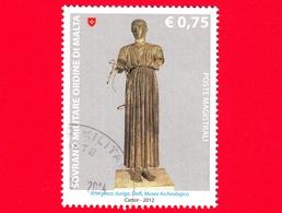 SMOM - Ordine Di Malta - Usato - 2012 - Scultura Nell'arte - Arte Greca - Auriga - Delfi - 0.75 - Sovrano Militare Ordine Di Malta