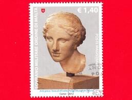 SMOM - Ordine Di Malta - Usato - 2012 - Scultura Nell'arte - Arte Greca - Testa Di Afrodite - Parigi, Louvre - 1.40 - Sovrano Militare Ordine Di Malta