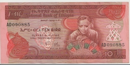 ETHIOPIA P. 32b 10 B 1976 VF - Ethiopië