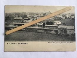 VIRTON Nº 9 « VUE GÉNÉRALE LA GARE» Édit A.Sainte- Marie,Ciney- Virton . - Virton