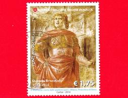 SMOM - Ordine Di Malta - Usato - 2014 - 5° Centenario Della Morte Di Donato Bramante - Uomo Dallo Spadone, Opera Del Bra - Malte (Ordre De)