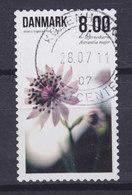 Denmark 2011 Mi. 1656 A    8.00 Kr. Summer Flower Blume (from Sheet) - Dänemark
