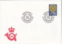 DÄNEMARK 804, FDC, Europa Mitläufer-Ausgabe, 2. Direktwahl Zum EU-Parlament 1984 - Europa-CEPT
