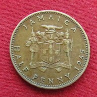 Jamaica 1/2 Half Penny 1965 Jamaique Jamaika Wºº - Jamaica