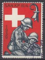 SCHWEIZ Soldatenmarke: SAN KP. III/4, 1939, Gestempelt - Soldaten Briefmarken