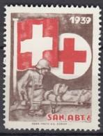 SCHWEIZ Soldatenmarke: SAN.ABT. 6., 1939, Ungebraucht - Soldaten Briefmarken