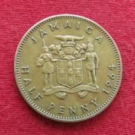 Jamaica 1/2 Half Penny 1964 Jamaique Jamaika Wºº - Jamaique