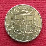 Jamaica 1/2 Half Penny 1963 Jamaique Jamaika Wºº - Jamaique
