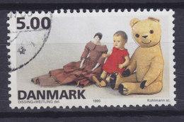Denmark 1995 Mi. 1113  5.00 Kr Dänisches Spielzeug Danish Toys Porzellanpuppe Teddy Bear - Dänemark