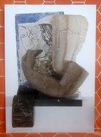 OSSIP ZADKINE Sculpyeur - Museo Nazionale Arte Moderna Paris CARTOLINA Non Viaggiata - Sculture