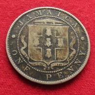 Jamaica 1 Penny 1905 Jamaique - Jamaica