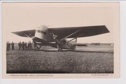 Vintage KLM Photo Air France F-AIAU Farman Jabiru Aircraft @ Waalhaven Airport - 1919-1938: Between Wars