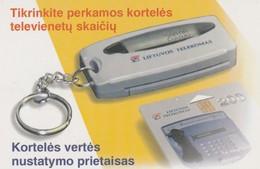 LITUANIA. CHIP. Card Tester. LT-LTV-C021. (081). - Lituania