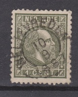 Nederlands Indie 4 TOP CANCEL WELTEVREDEN ; Koning King Roi Rey Willem III 1870 ; NETHERLANDS INDIES P/PIECE - Indes Néerlandaises