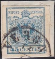 Lombardo  Veneto   .     Yvert    .   5     .       O         .     Oblitéré     .    /   .   Cancelled - Lombardo-Veneto