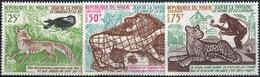 Niger 1972. Michel #352/54 MNH/Luxe. Fables Of Jean De La Fontaine (1621-1695). (B25-1) - Fiabe, Racconti Popolari & Leggende