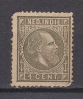 Nederlands Indie 4 MLH ; Koning King Roi Rey Willem III 1870 ; NETHERLANDS INDIES P/PIECE - Niederländisch-Indien