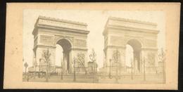 Stereoview - Arc De Triomphe, Paris FRANCE - Stereoscopi