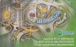 LITUANIA. CHIP. Lintel. LT-LTV-C026. (033). - Lituania