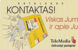LITUANIA. CHIP. Catalogue Kontaktas. LT-LTV-C027. (073). - Lituania