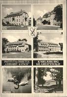 71279955 Karlsburg Greifswald Institut Fuer Diabetes Schloss Parkteich Karlsburg - Deutschland