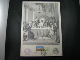 "BELG.1993 2491 FDC Filatelic Card (Brugge) : ""BELGIAN-HUNGARIAN ISSUE"" (signé Jacques Doppée ,met Handtekening) - FDC"