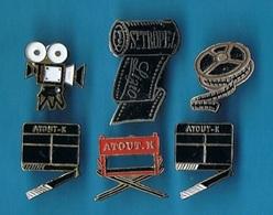 6 PIN'S //   ** OBJETS DE CINEMA ** - Pin's