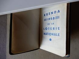 Agenda De La Loterie Nationale 1958 - Petit Format : 1941-60