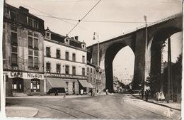 Knutange - Rue De La Republique Et Viaduc - France