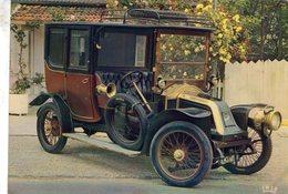 Renault Coupé Chauffeur  -  1908  -  Publicité Trophires Carte Postale - Passenger Cars